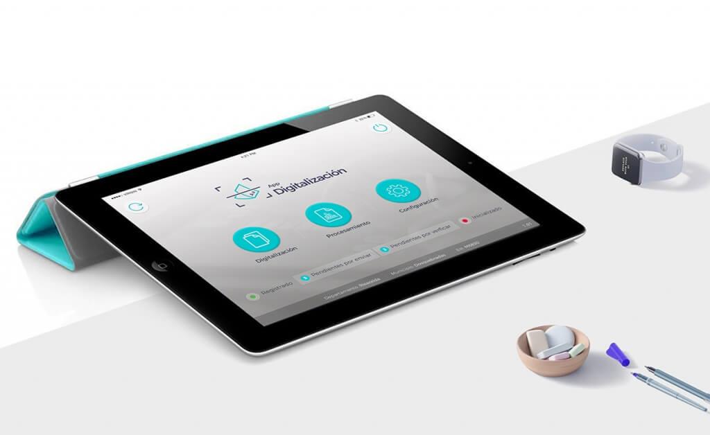 App Digitalización – Carvajal